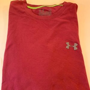 Under Armour T-Shirt Heat Gear Loose Size Large